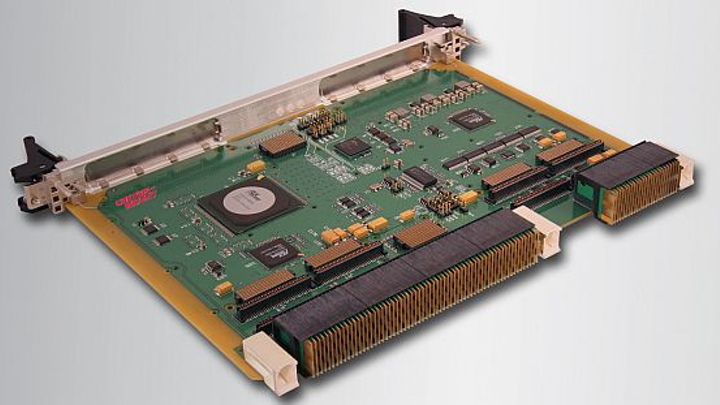 Rugged 6U OpenVPX XMC carrier card for military vehicles and aircraft introduced by Curtiss-Wright