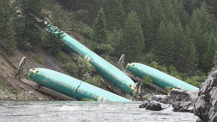 Train derailment a cautionary tale for today's complicated aerospace manufacturing supply chain