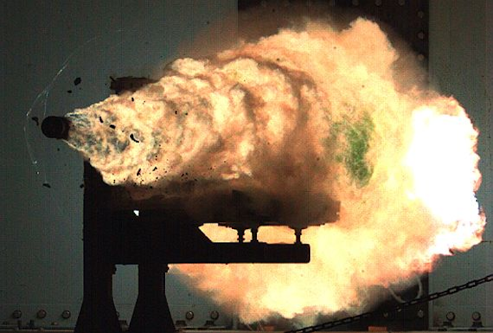 Navy chooses high-performance batteries from K2 Energy to power electromagnetic railgun capacitors