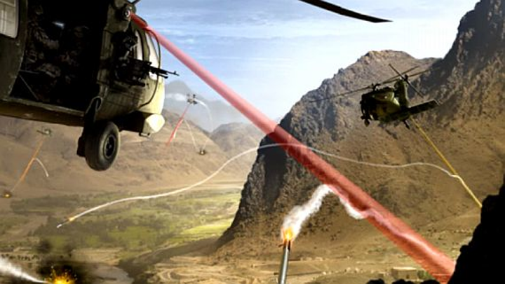 Navy to ask industry to develop laser weapon prototype for deployment on helicopters