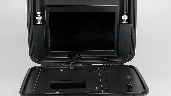 Briefcase Receiver for military, aerospace, and government uses introduced by IMT
