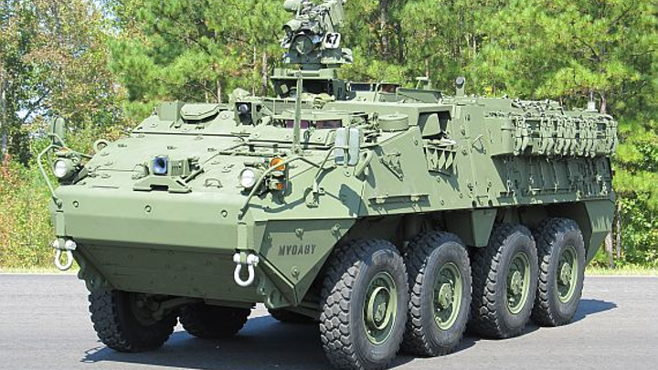 Global market for military land vehicles and upgrades to grow 29 percent through 2022