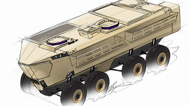 Army pushes forward with project to design lightweight maneuverable vehicle with soldier protection