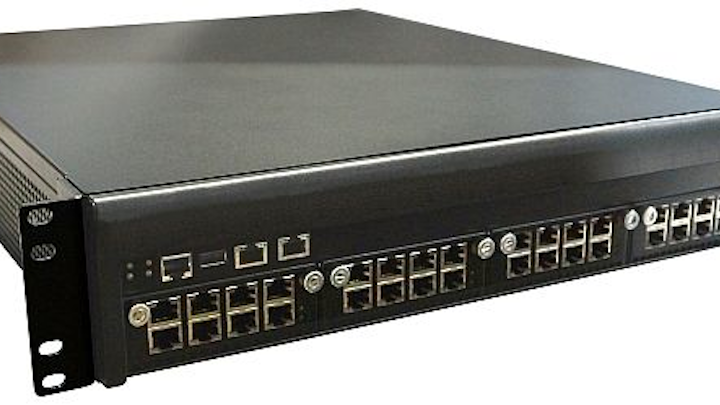 2U rack-mounted hardware platform for network service applications introduced by WIN