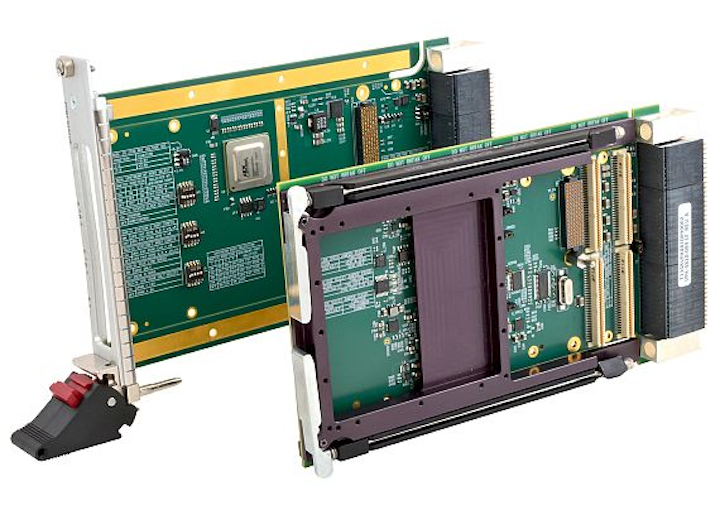 3U VPX carrier cards to interface PMC XMC modules to VPX systems introduced by Acromag