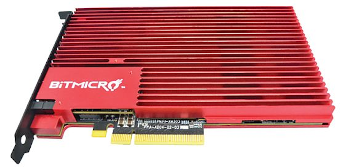 PCI Express solid state drive for video streaming and file servers introduced by BiTMICRO