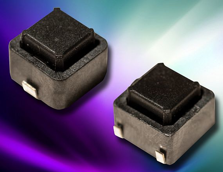 Surface-mount top-actuated tactile switches for automotive applications introduced by C&K