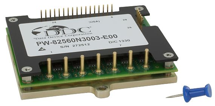 Speed and torque brushless DC electric motor controller for military uses introduced by DDC