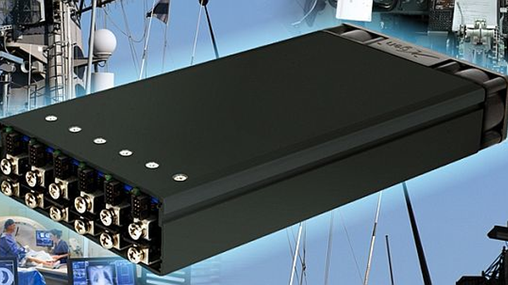 Ruggedized 1-kilowatt power supply for radar and communications introduced by Excelsys