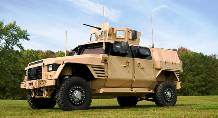 Raytheon to develop UAV-killing laser weapon small enough to fit on Joint Light Tactical Vehicle
