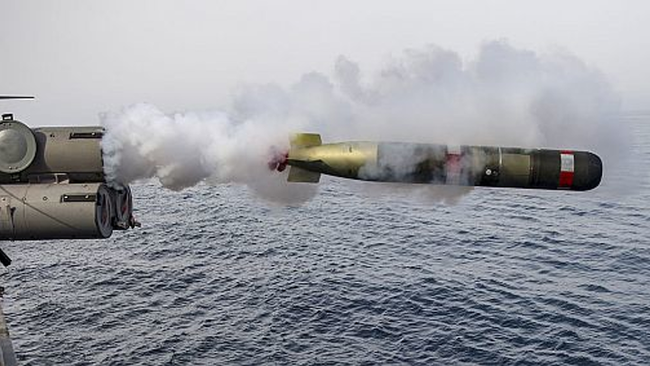 Raytheon to repair and upgrade Navy's inventory of Mark 54 lightweight air-launched torpedoes
