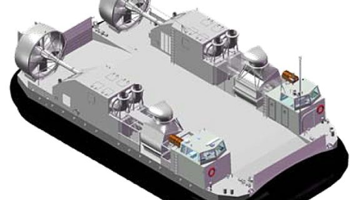 Navy authorizes Textron to start building one of first LCAC replacement vessels