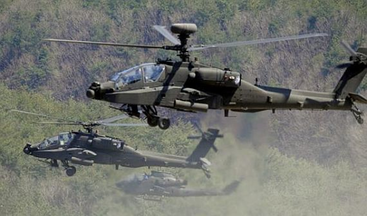 Army awards $130 million contract modification to Boeing to build seven AH-64E attack helicopters