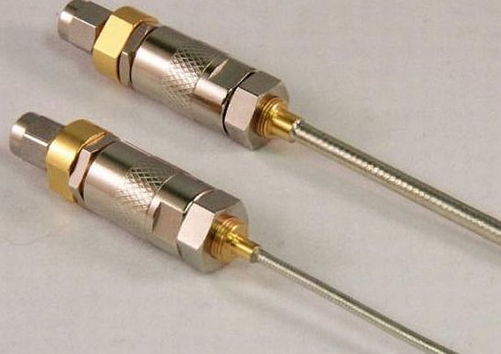 Direct-solder versions of phase-adjustable RF and microwave connectors offered by Coaxicom