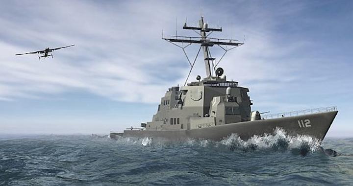 Northrop Grumman moves forward on developing long-endurance maritime UAV for small ships