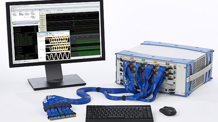 Fast logic analysis system for high-end digital test and measurement introduced by Keysight