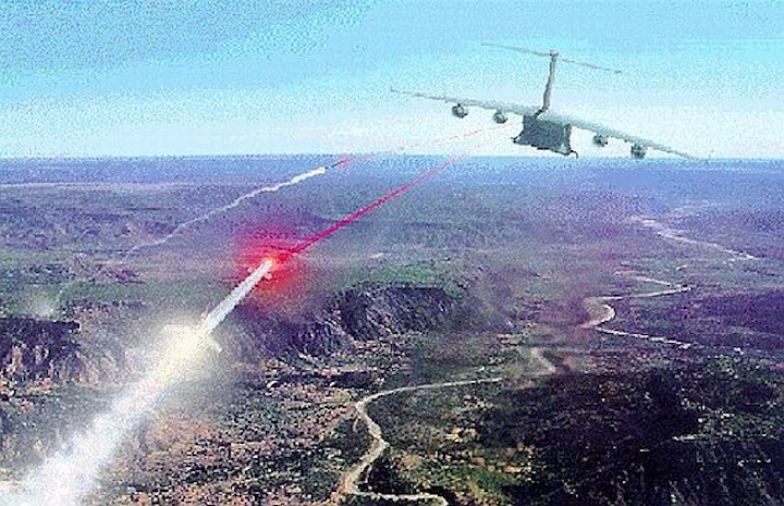 Air Force orders LAIRCM laser missile defense systems for different versions of C-130 aircraft