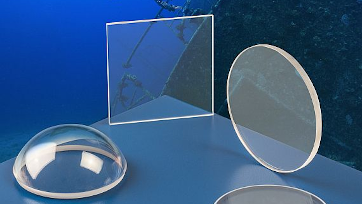 Optics able to withstand high-pressure undersea conditions introduced by Meller Optics
