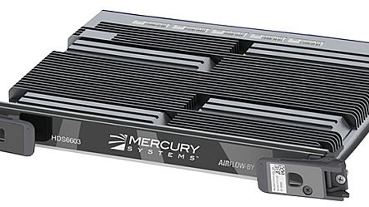 High-density embedded computing server for radar and electro-optical uses offered by Mercury
