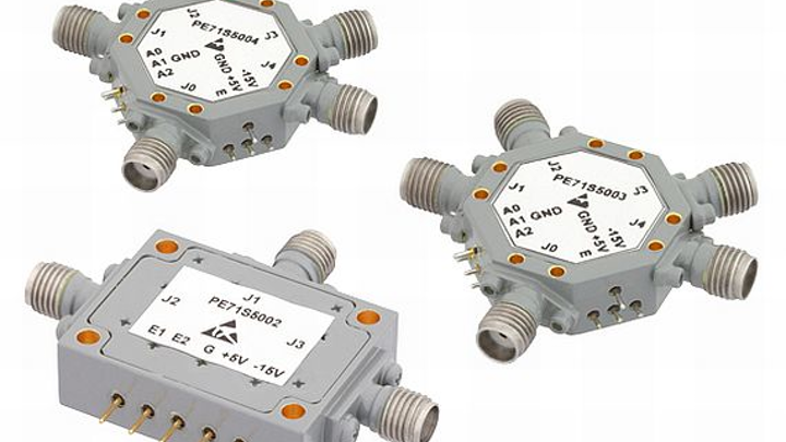 PIN diode switches for common defense and commercial applications introduced by Pasternack