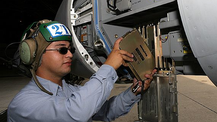 Navy awards $41 million contract to Raytheon to provide 15 AN/APG-79 AESA aircraft radar systems