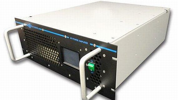 High-power rackmount solid-state RF and microwave power amplifier introduced by Aethercomm