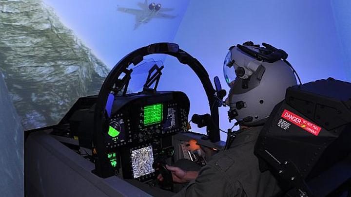 Australian navy buys L-3 Link flight simulators for EA-18G pilot training and mission rehearsal