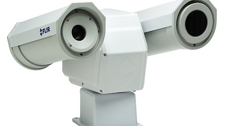 FLIR thermal cameras for optical gas detection monitor gas pipelines from safe distances