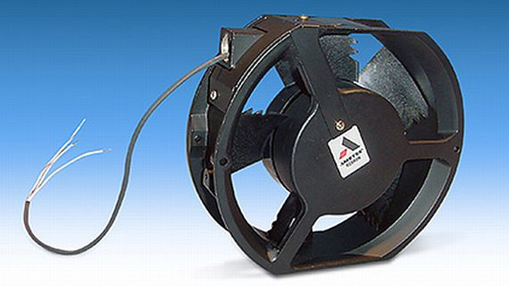 Electronics cooling fan for hazardous and explosive environments introduced by AMETEK Rotron