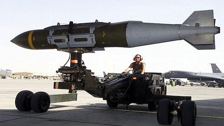 Air Force to enable smart weapons to track and kill sources of electronic warfare (EW) jamming