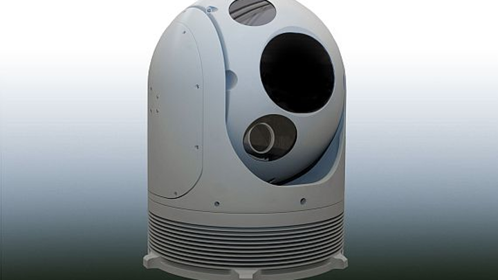 Electro-optical sensor turret for ships, vehicles, and planes introduced by Lockheed Martin