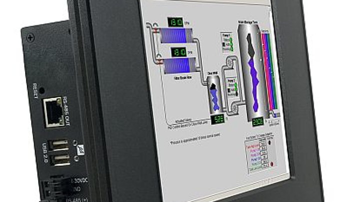 Ruggedized, wide-temperature flat-panel computer for HMI and control introduced by Sealevel