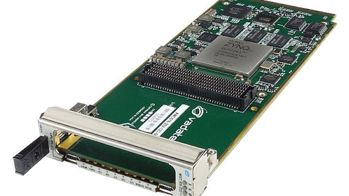 FPGA-based AMC embedded computing module for aerospace and defense introduced by VadaTech