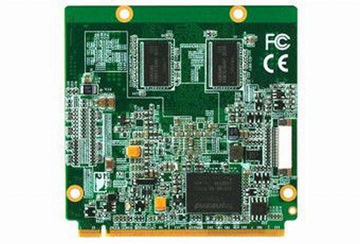 Rugged and power-efficient Qseven embedded computing module introduced by AAEON