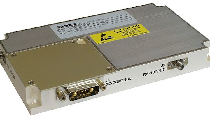 Solid-state GaN RF amplifier for communications, EW, and radar introduced by Comtech PST
