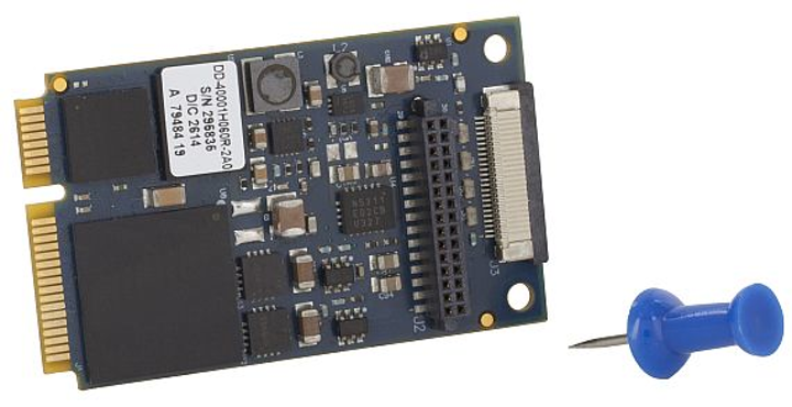 ARINC 429 and ARINC 717 Mini PCI Express board for avionics applications introduced by DDC