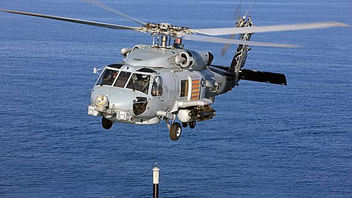 Navy asks industry for new cable to improve deficiencies in AN/AQS-22 helicopter dipping sonar