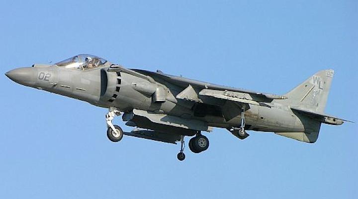 Navy considers upgrading AV-8B jump jet with small-form-factor Link 16 MIDS terminals