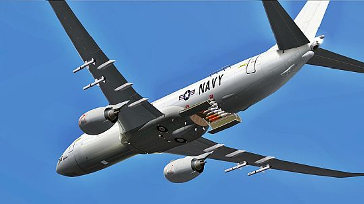 Boeing to equip Navy's new P-8A Poseidon maritime patrol aircraft for high-altitude ASW missions
