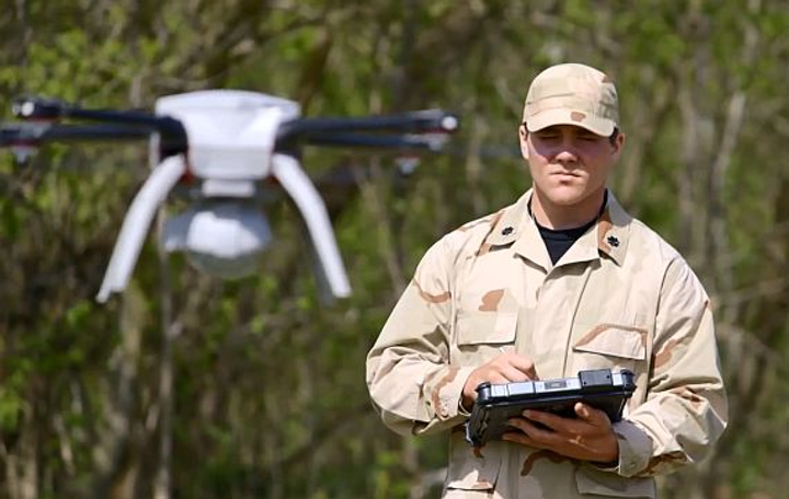 Army researchers survey industry for suppliers of Aeryon SkyRanger small helicopter drones