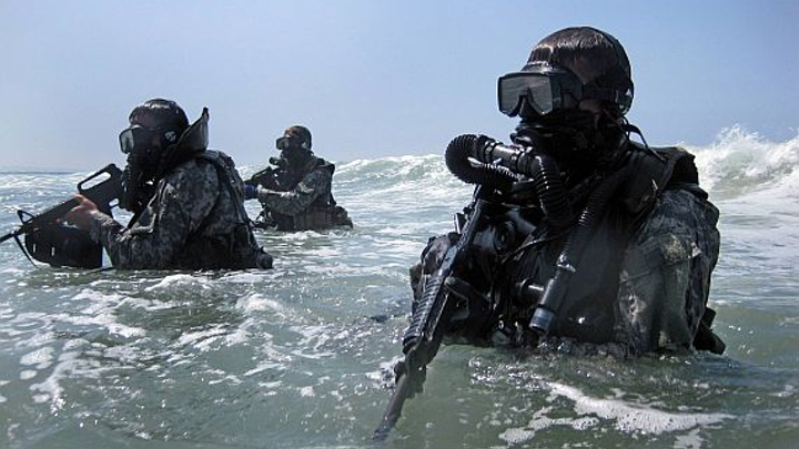 Special Forces asks industries for new technologies to help combat divers fight in the water