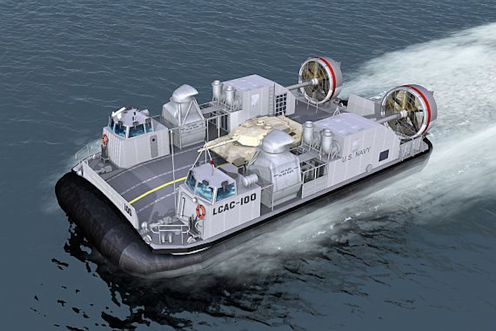 Navy asks Textron to build second and third next-generation LCAC vessels for beach invasions