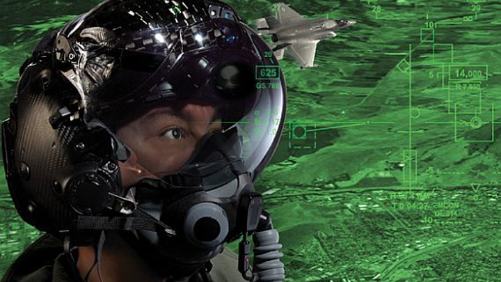 Navy orders night-vision helmet-mounted displays to help combat pilots fly at night