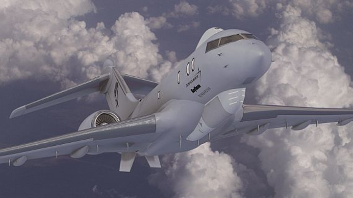 Defense companies move forward with effort to repackage Joint STARS radar for smaller aircraft