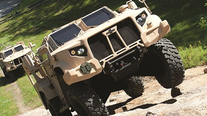 Army for JLTV armored combat vehicles continues to roll-in with order for 611 more