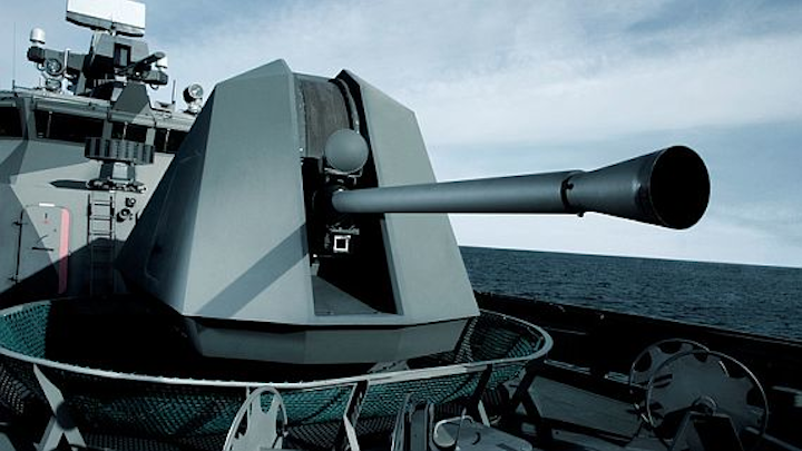 BAE Systems to build computer-controlled deck gun for U.S. Coast Guard national security cutter