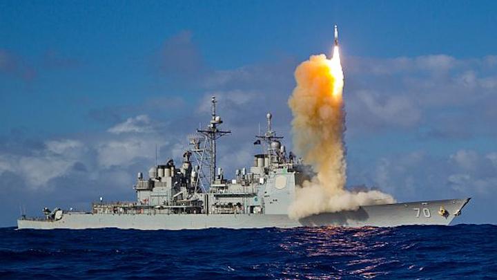 Raytheon wins half-billion-dollar contract to build 17 missile-defense shipboard missiles