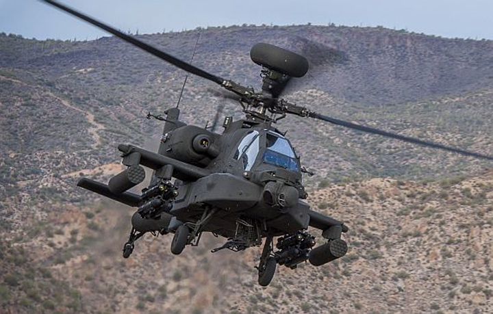Army orders 35 AH-64E Apache Guardian attack helicopters in $591.2 million contract to Boeing