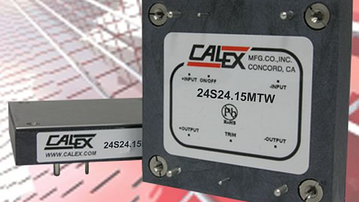 360-Watt wide-input power supplies for COTS military applications introduced by Calex