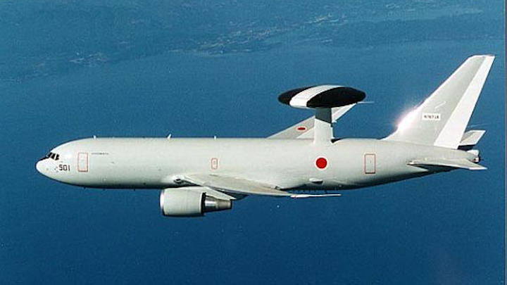 Boeing to continue process of upgrading electronics in four Japan AWACS surveillance aircraft